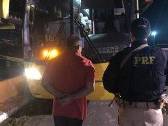 PRF prende homem com mandado de prisão em aberto em União dos Palmares