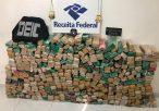 Polícia Civil e Receita Federal apreendem 300 kg de maconha em Arapiraca