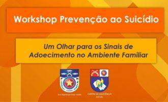Centro de Assistência Social da PM irá realizar no dia 27 de setembro um evento de prevenção ao suicídio