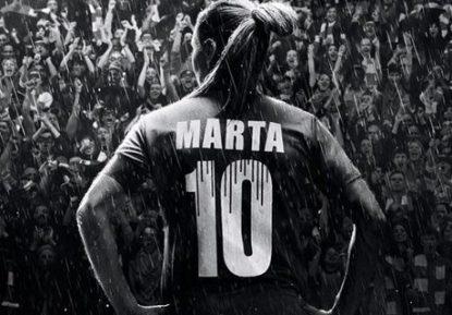 """Rainha Marta anuncia """"pausa"""" no futebol no dia de seu aniversário"""