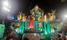 """Rainha Marta se emociona em desfile em sua homenagem na Sapucaí: """"Algo surreal"""""""