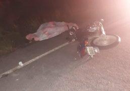 Motociclista morre após colidir com cavalo em Porto Calvo, AL