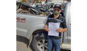 Polícia Militar recupera motocicleta roubada 9 anos atrás e devolve ao proprietário.