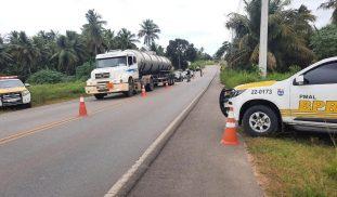 BPRv realiza operação no Litoral Sul alagoano e flagra doze condutores inabilitados