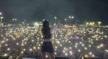 Em meio à pandemia, multidão se aglomera em show de Mariana Fagundes no Pará