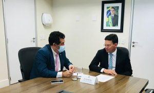Severino Pessoa volta a se reunir com ministro da Cidadania em busca de recursos para Alagoas