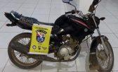 Polícia Militar recupera motocicleta roubada em Palmeira dos Índios